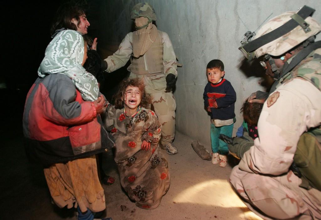 U.S. Troops Mistakenly Kill Iraqi Civilians