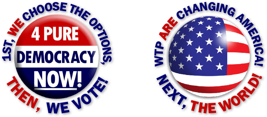 Affimative Action Alliance Voting Buttons