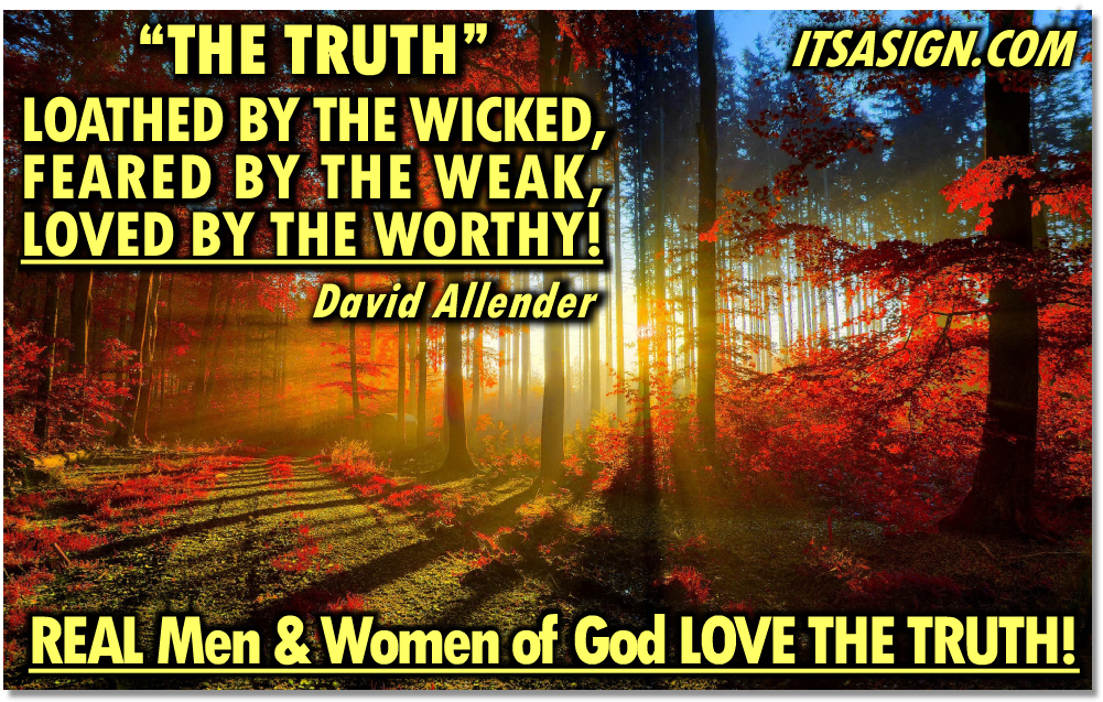 "David Allender ""The Truth"""