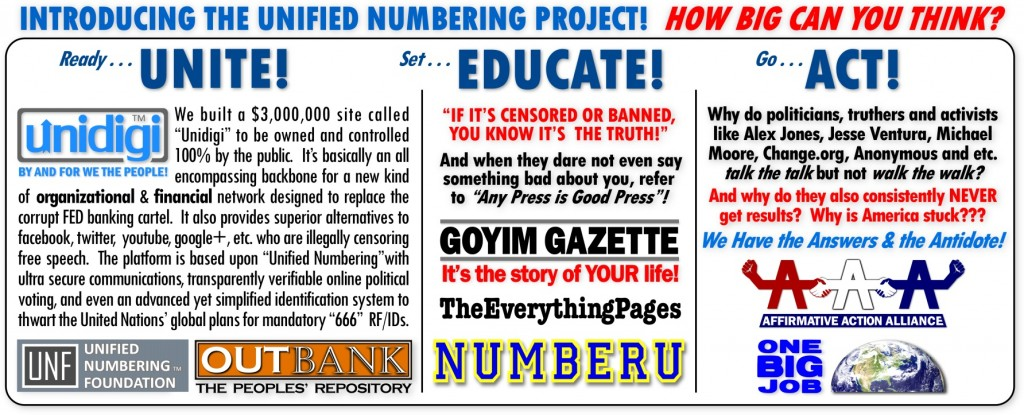 UnifiedNumberingProject