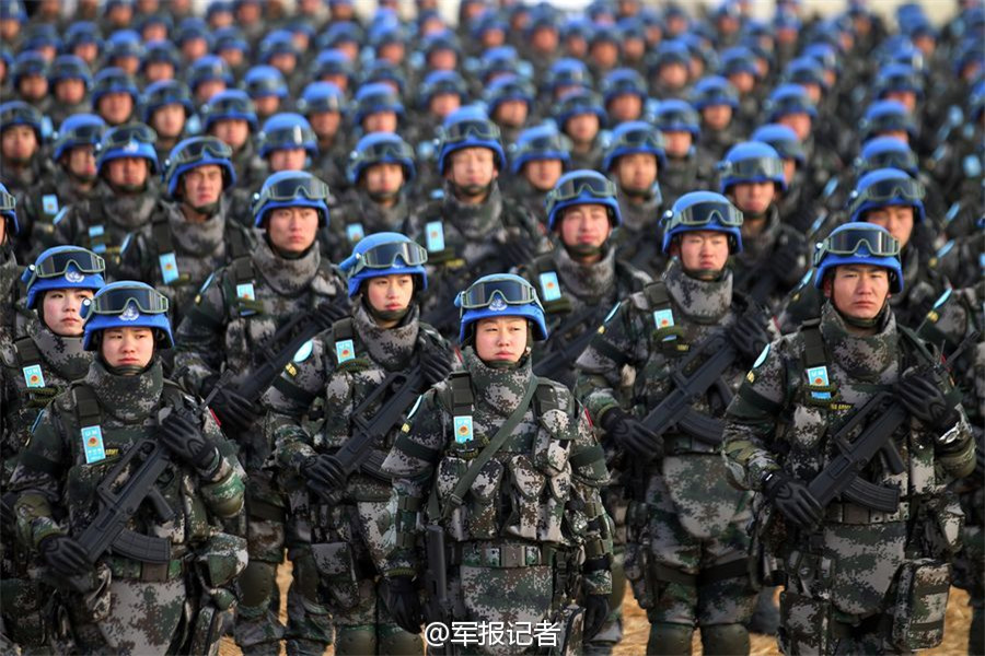 chinese-peacekeepers